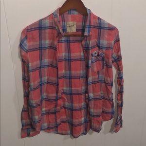 Tops - Hollister flannel